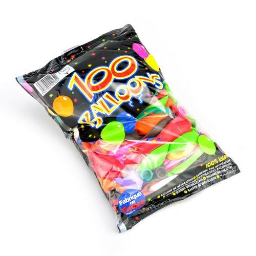 Ballons de baudruche - lot de 100
