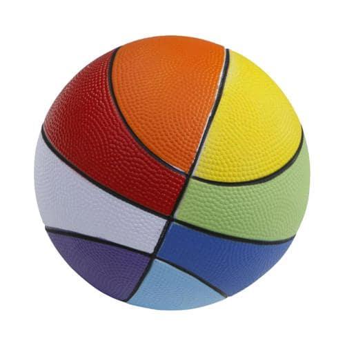 Ballon basket - Casal Sport mousse softelef arc-en-ciel