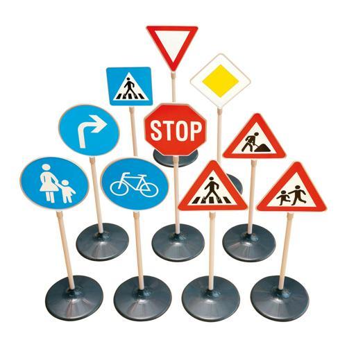 Moderne Lot 10 panneaux de signalisation - Casalsport.com QV-67