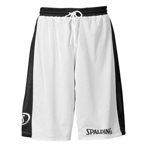 Short Spalding réversible blanc/noir
