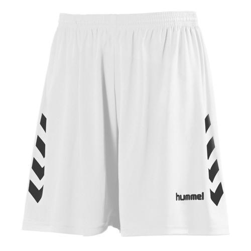 Short CHEVRONS HUMMEL blanc-noir