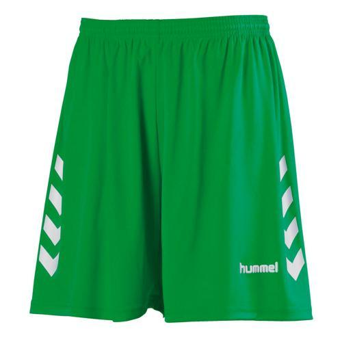 Short CHEVRONS HUMMEL vert-blanc