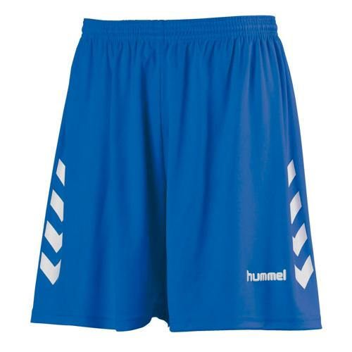 Short CHEVRONS HUMMEL royal-blanc