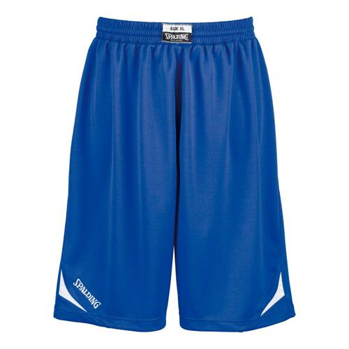 Short Spalding Attack kids royal/blanc