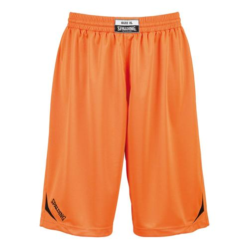 Short Spalding Attack kids orange/noir