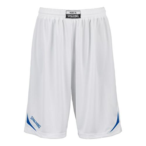 Short Spalding Attack kids blanc / royal