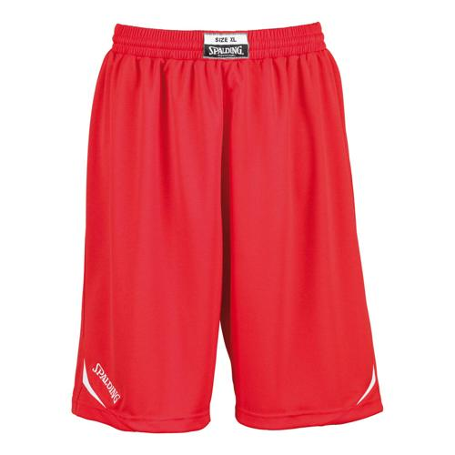 Short Spalding Attack adulte rouge/blanc