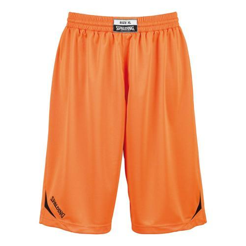 Short Spalding Attack adulte orange/ noir