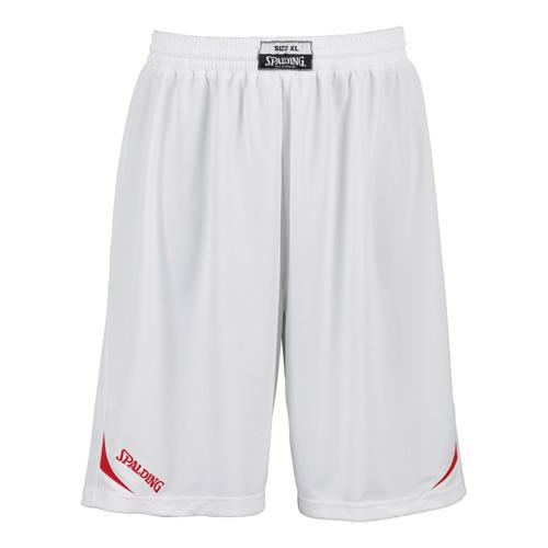 Short Spalding Attack adulte blanc / rouge