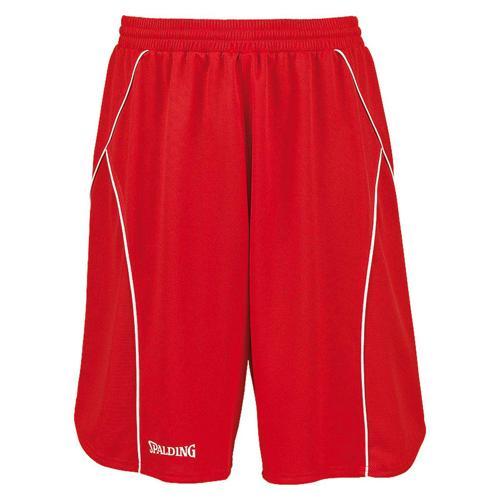 Short Spalding Crossover rouge / blanc