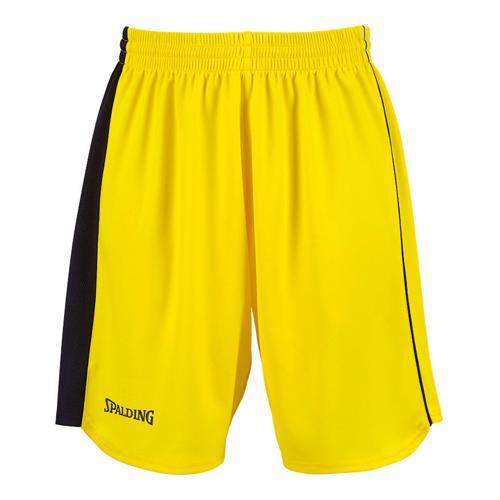 Short Spalding 4Her II Feminin jaune / noir