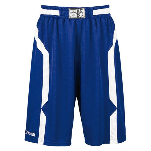 Short Spalding Offense royal/blanc