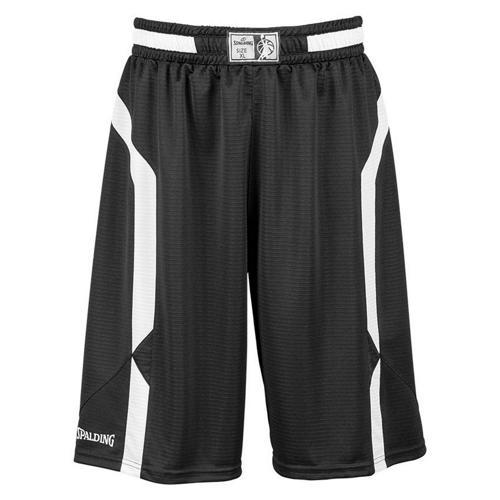 Short Spalding Offense noir/blanc