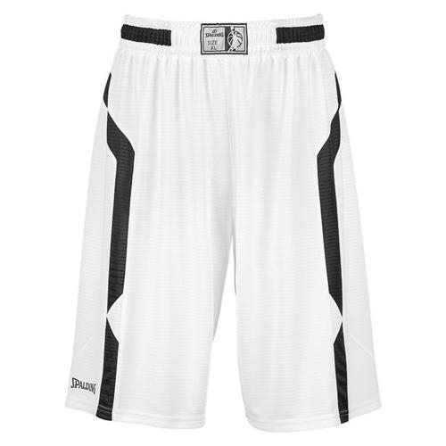 Short Spalding Offense blanc/noir