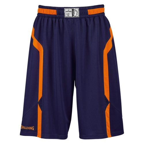 Short Spalding Offense marine/orange fluo