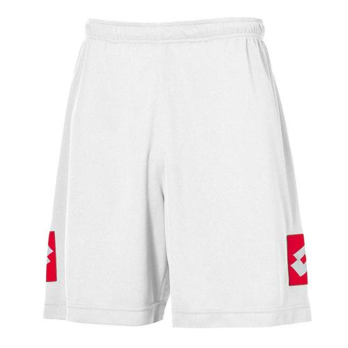 Short Adulte Lotto Evo Blanc