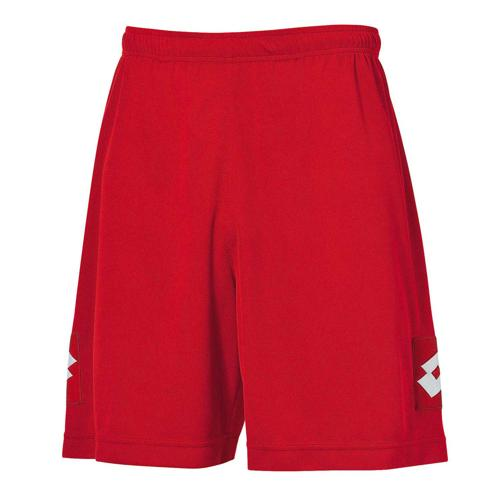 Short Adulte Lotto Evo Rouge
