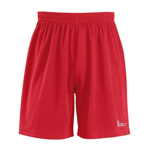 SHORT ROUGE SAN SIRO 2 CLUB