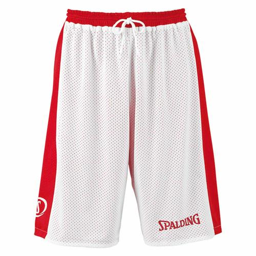 Short Spalding réversible rouge/blanc