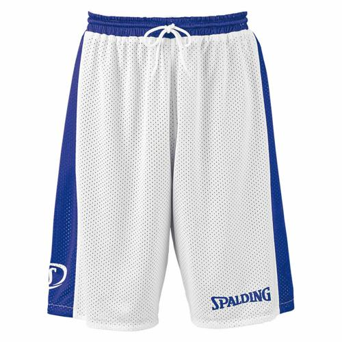 Short Spalding réversible royal/blanc