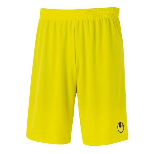 Short Uhlsport Center Basic II Jaune Citron