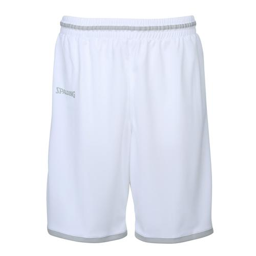 Short masculin Spalding Move Blanc/Gris