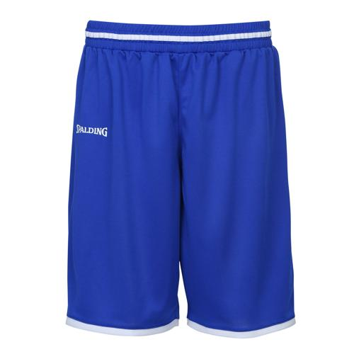 Short masculin Spalding Move Royal/Blanc