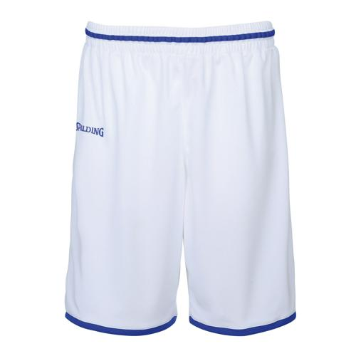 Short masculin Spalding Move Blanc/Royal
