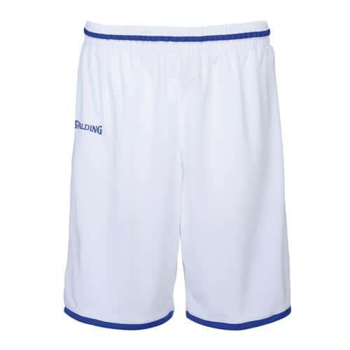 Short masculin Spalding Move Blanc/Royal