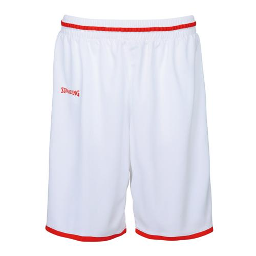 Short masculin Spalding Move Blanc/Rouge