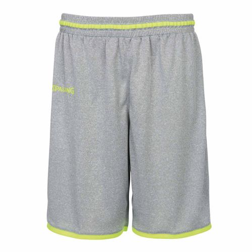 Short masculin Spalding Move Gris/Jaune