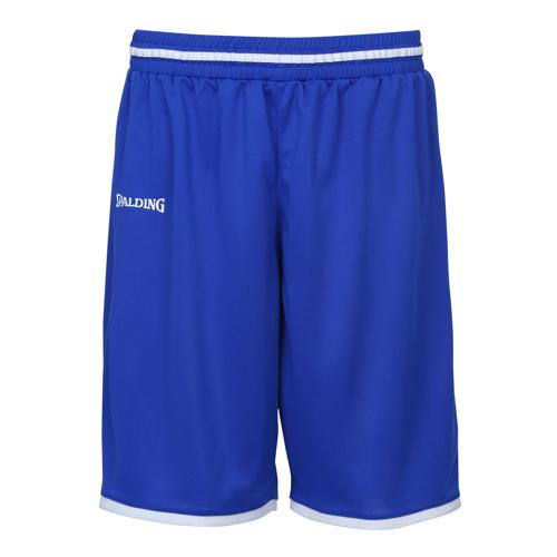 Short kids Spalding Move Royal/Blanc