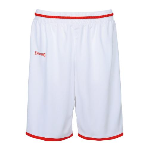 Short kids Spalding Move Blanc/Rouge