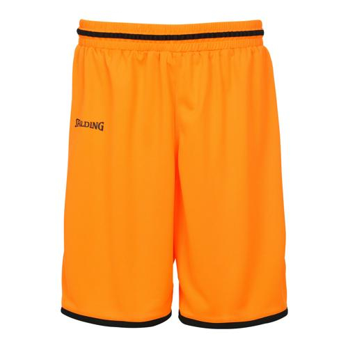 Short kids Spalding Move Orange/Noir