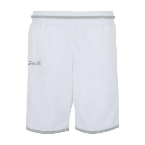 Short Move feminin Blanc/Gris Spalding