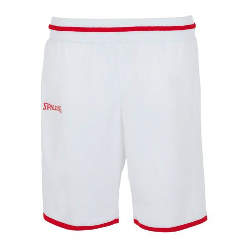 Short Move feminin Blanc/Rouge Spalding