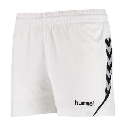 Short féminin Hummel Authentic Charge Blanc