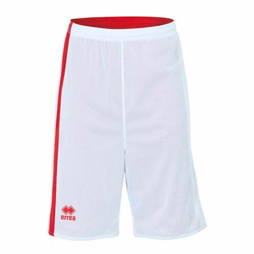Short Réversible Errea Seattle Blanc/Rouge