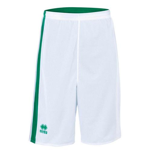 Short Réversible Errea Seattle Blanc/Vert