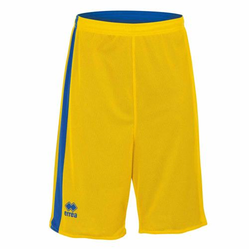 Short Réversible Errea Seattle Jaune/Royal