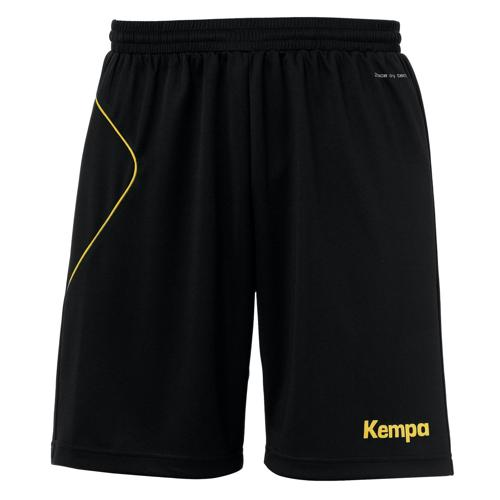 Short Kempa Curve Noir/Or