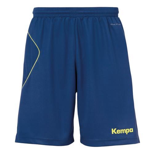 Short Kempa Curve Marine/Jaune