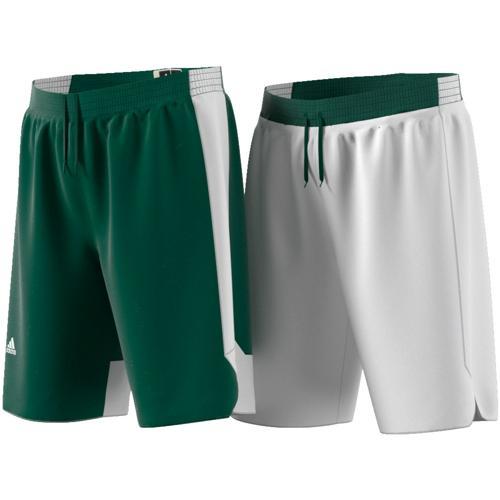 Short Reversible adidas Crazy Vert/Blanc