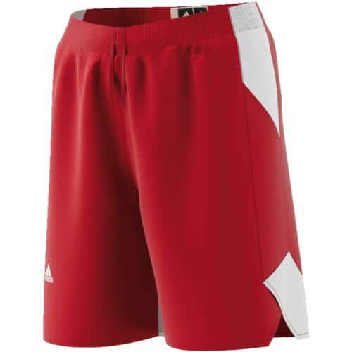 Short adidas Crazy explosive Rouge/Blanc