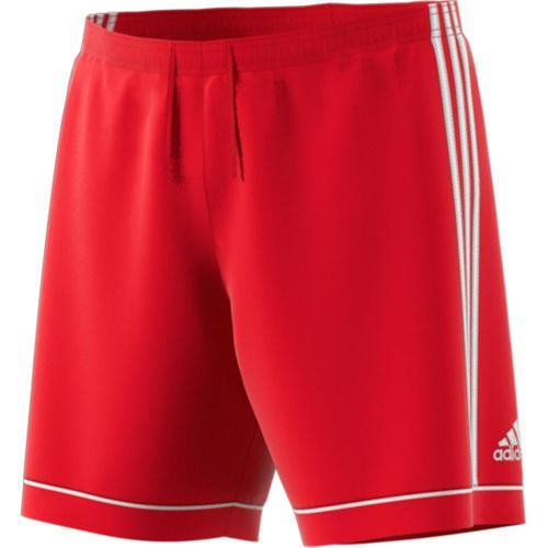 Short Squadra Enfant Rouge/Blanc adidas