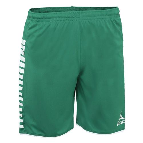 Short Select Argentina Vert/Blanc