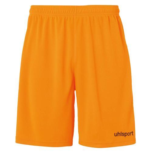 Short Center Orange fluo/Noir UHLSPORT
