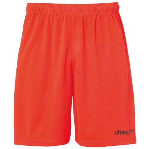 Short Center Rouge fluo/Noir UHLSPORT