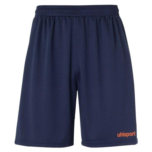 Short Center Bleu marine/Rouge fluo UHLSPORT