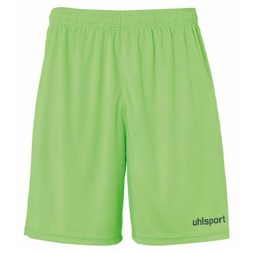 Short Center Vert flash/Noir enfant UHLSPORT